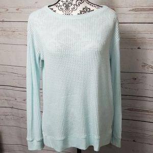 J.Jill Waffle Knit Sweater